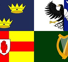 Four Provinces Flag of Ireland by abbeyz71