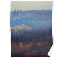 Maple Bloom, Wood Smoke and Golden Hour Poster