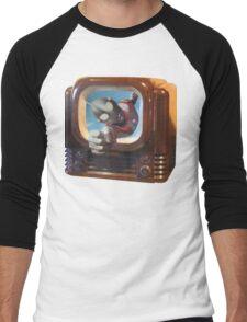 Ultra TV Time Men's Baseball ¾ T-Shirt
