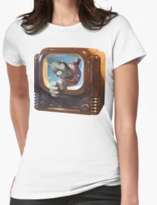 Ultra TV Time Womens Fitted T-Shirt
