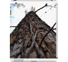 Vines growing up through life iPad Case/Skin