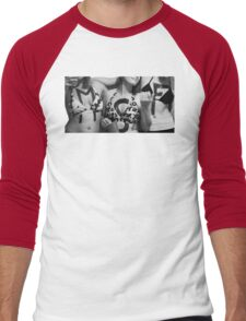 "MSF- ""Three Girls, Three Cups"" Men's Baseball ¾ T-Shirt"