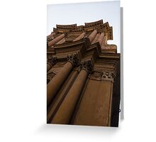 Architecture in Rome, Italy - One of Over 900 Churches in the City Greeting Card