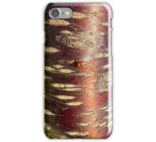 Cherry bark iPhone Case/Skin