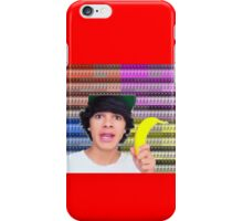 Brent Rivera Banana iPhone Case/Skin