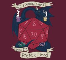 I'll Pretend Sleep When I'm Pretend Dead by unknownbinaries