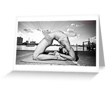 Kapotasana Greeting Card