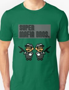 Super Mafia Bros  T-Shirt
