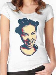 Björk Women's Fitted Scoop T-Shirt