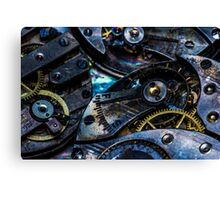 Chrono Punk Canvas Print