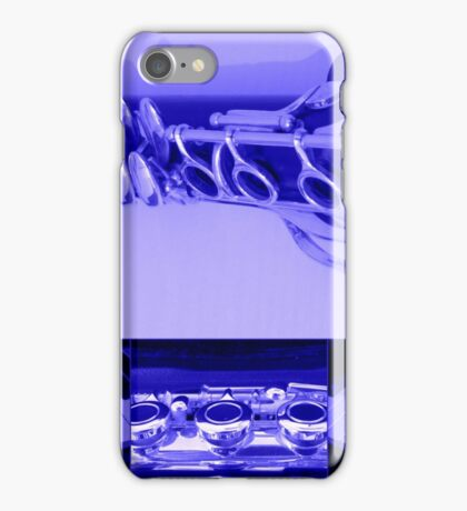 Kind Of Blue Musical Collage iPhone Case/Skin