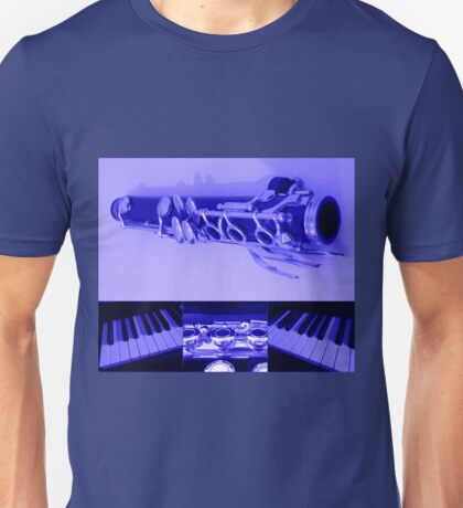 Kind Of Blue Musical Collage Unisex T-Shirt