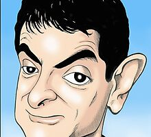 MR BEAN IPHONE CASES by David Lumley