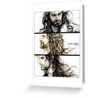 The heirs of Durin (3) Greeting Card