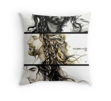 The heirs of Durin (3) Throw Pillow
