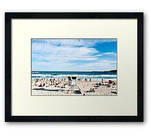 Bondi Lifeguard Framed Print