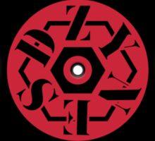 Dzy Vinyl Red Sticker