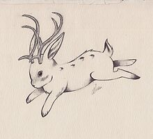 The Jackalope by wildkinstudio