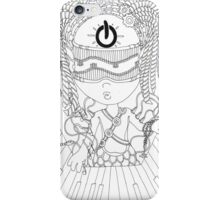Sea Of Wires - Keyboard iPhone Case/Skin