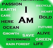 I Am ~ Green by Amantine