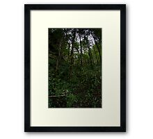 welcome to the jungle part.two Framed Print