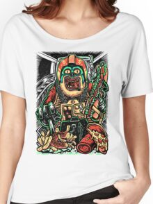 Zombie Star Farter Pilot Women's Relaxed Fit T-Shirt