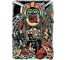 Zombie Star Farter Pilot Photographic Print