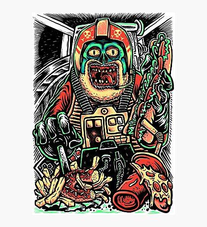 Zombie Star Farter Pilot Photographic Print