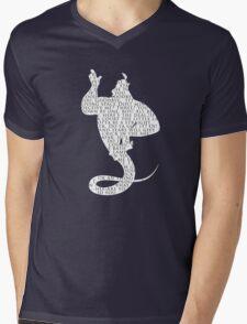 Genie Quotes Mens V-Neck T-Shirt