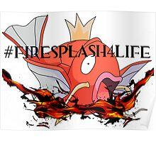 #FireSplash4Life Poster