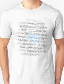 River's marriage proposal Unisex T-Shirt