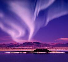 Northern Lights aurora borealis by surangaw