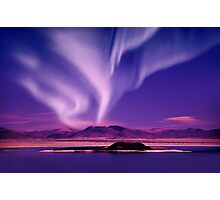 Northern Lights aurora borealis Photographic Print