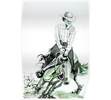 COWBOY at the RODEO Poster
