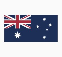 Australian Flag by Diabolical