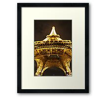 Eiffel Tower Up Framed Print
