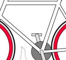 City Velo Fixé - On White Sticker