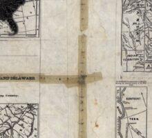 Civil War Maps 1909 War maps and diagrams 02 Sticker