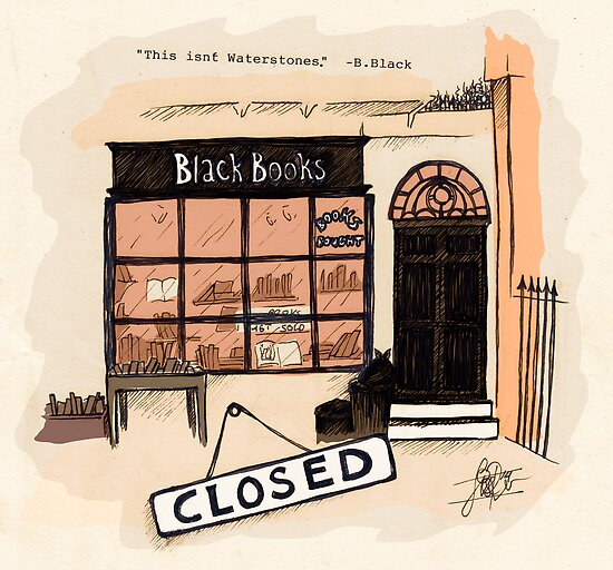 Black Books by LiseRichardson