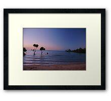 Maningrida Beach Northern Territory Australia Framed Print