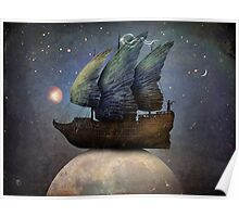 Sailing the Universe Poster