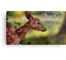 Touch of nature Metal Print