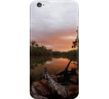 Murray River Sunset iPhone Case/Skin