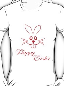 Happy Easter Rabbit T-Shirt