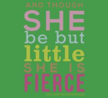 Though She be but Little - Shakespeare QUOTE Baby Tee