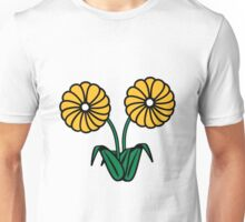 two beautiful flowers Unisex T-Shirt