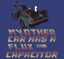 My other car has a flux capacitor by CarloJ1956