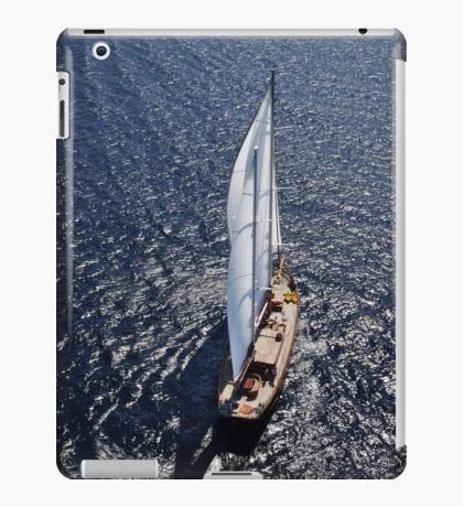 sailboat sailing iPad Case/Skin