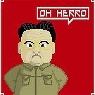 Kim Jong Il by Midgetcorrupter