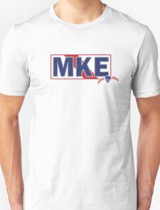 Milwaukee PBR Mashup   Pabst Blue Ribbon Unisex T-Shirt